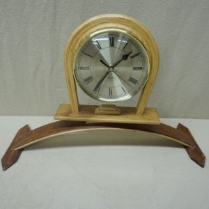 Large Bent Mantel Clock