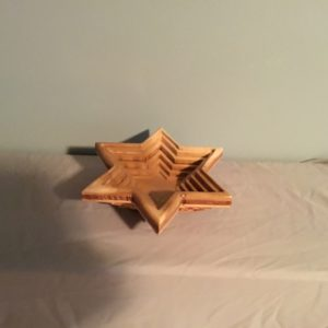 Jewish Star Collapsible Bowl